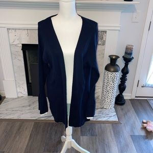 NWT Navy Crown & Ivy sweater